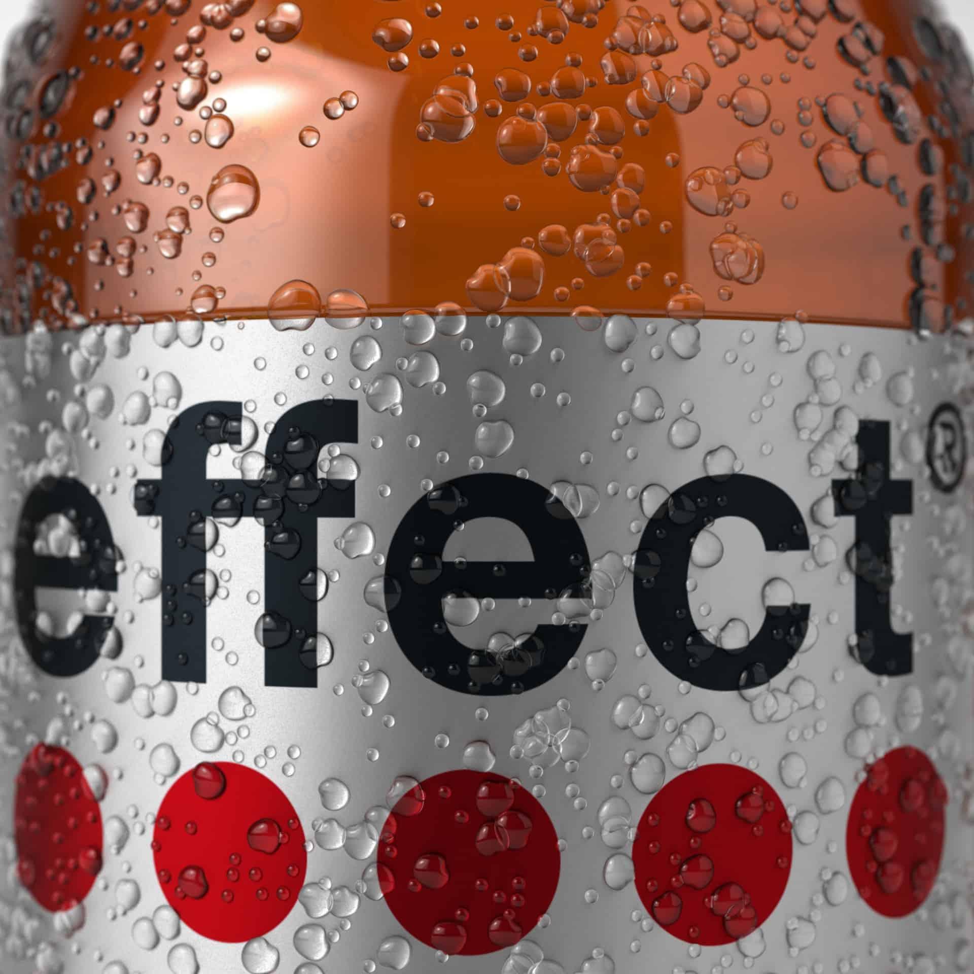 Betauung Effect Flasche