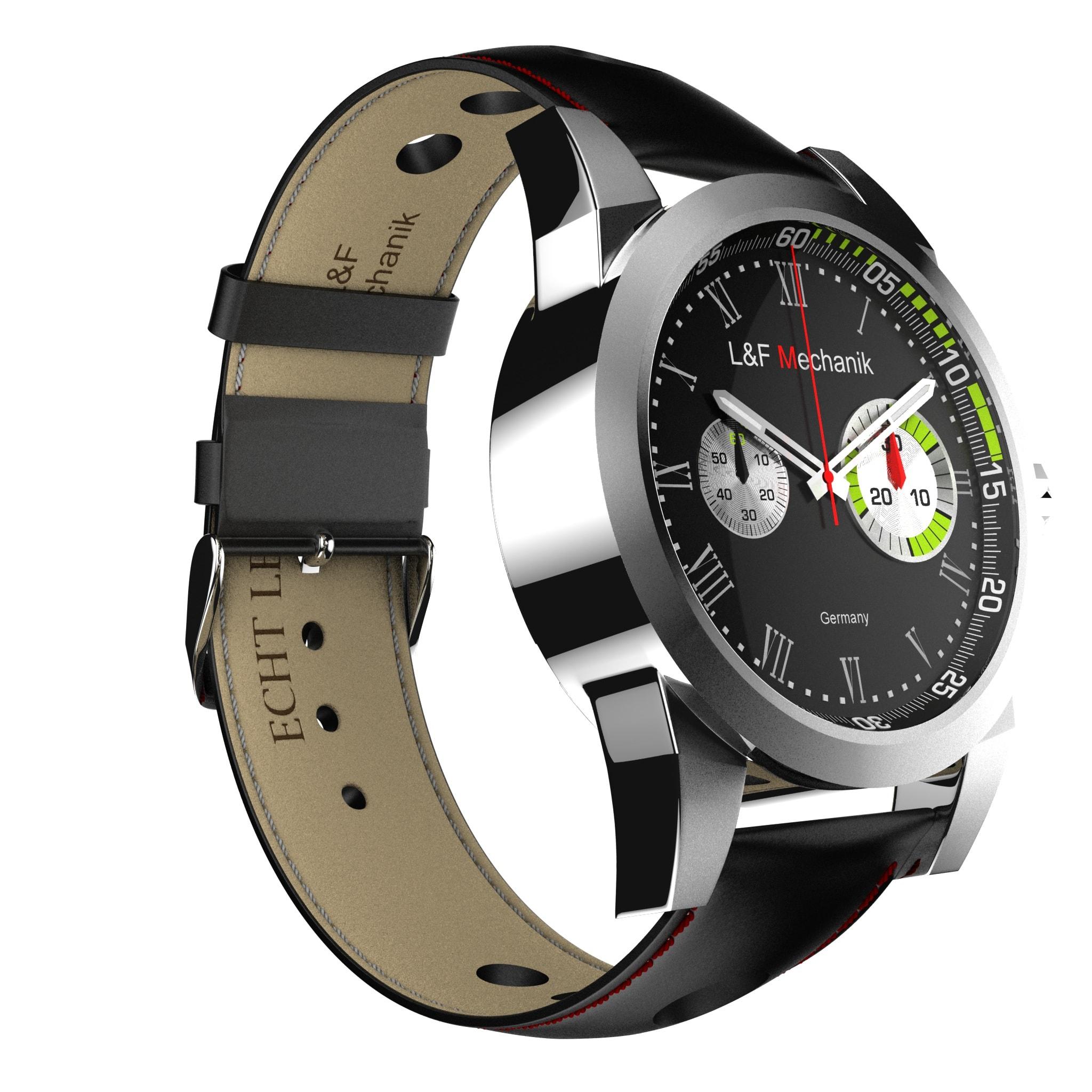 Visualisierung einer Uhr