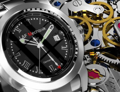 Design und Visualisierung von Uhren