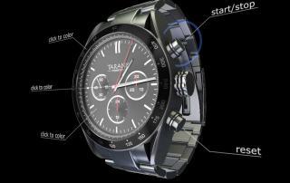 Screenshot aus einerm 3D Echtzeitkonfigurator für Uhren
