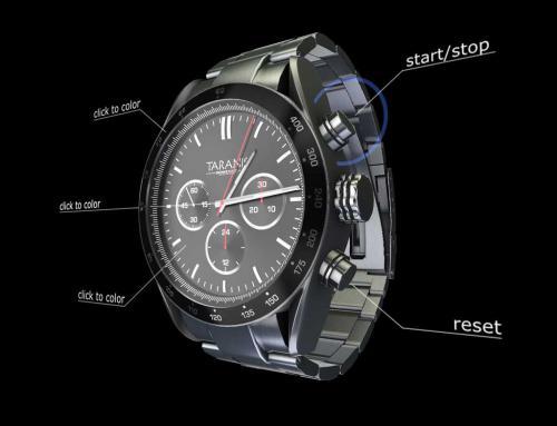 3D Web GL Konfigurator für Armbanduhr